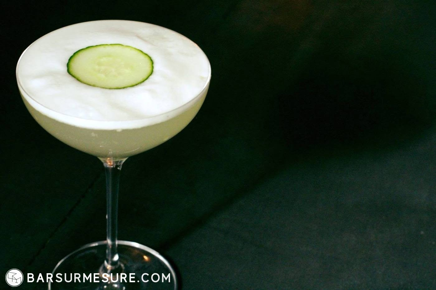 bar sur mesure station custom cocktail bar cucumber sour alexis taoufiq