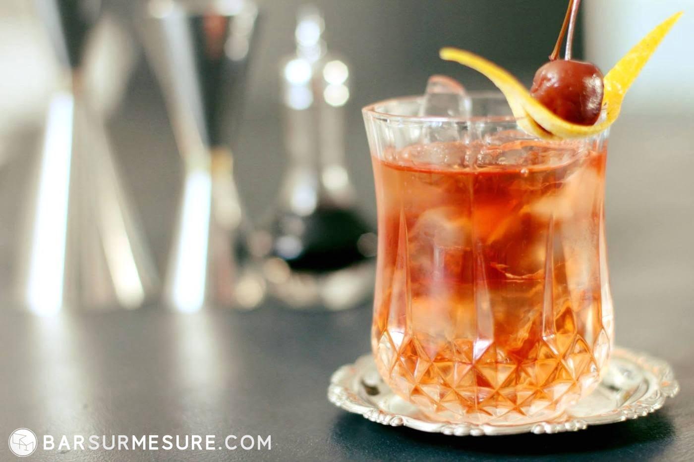 recette old fashioned classique cocktail, recettes, cocktail bar best